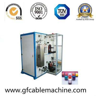 Fiber coloring machine